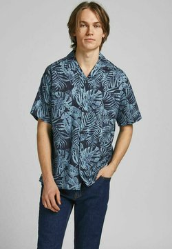 Jack & Jones PREMIUM - TROPENPRINT - Camicia - dusk blue