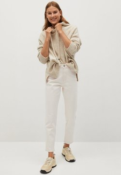 Mango - NEWMOM - Slim fit jeans - ecru