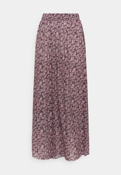 PIECES Tall - PCGWENA MIDI SKIRT - A-Linien-Rock - winsome orchid/artsy flowers