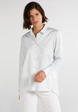 Eterna - Hemdbluse - pastellgrün/weiß
