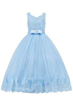 Prestije - MIT SPITZE - Cocktailkleid/festliches Kleid - babyblau
