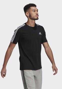 adidas Performance - Printtipaita - black/white