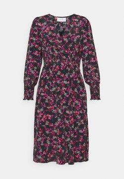 Wallis Petite - DITSY DRESS - Vestido informal - black