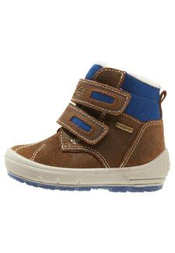 Superfit - GROOVY - Lauflernschuh - brown/blue