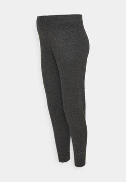 Pieces Maternity - PCMSALSA  PANTS - Pantalones - dark grey melange