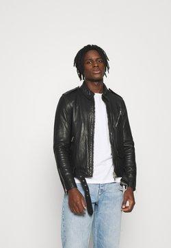 AllSaints - MONZA JACKET - Giacca di pelle - black