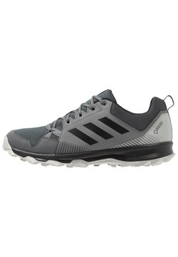 adidas Performance - TERREX TRACEROCKER GORE TEX TRAIL RUNNING SHOES - Hikingschuh - grey five/core black/grey four