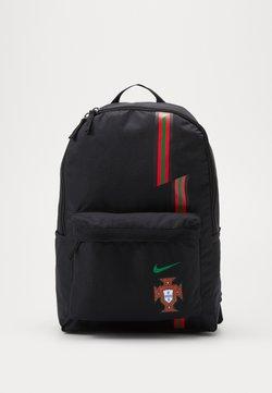 Nike Performance - PORTUGAL STADIUM - Reppu - black/gym red/metallic gold