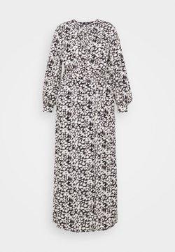 Missguided Plus - PLUNGE DRESS LEOPARD - Maxikjoler - black