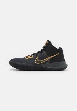 Nike Performance - KYRIE FLYTRAP 4 - Indoorskor - black/metallic gold/anthracite