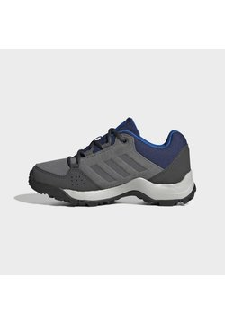 adidas Performance - TERREX HYPERHIKER LOW LEATHER HIKING SHOES - Chaussures de marche - grey