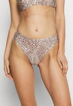 Seafolly - SERPENTINE HIGH RISE - Bikini-Hose - chocolate