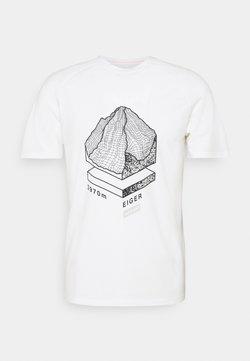 Mammut - MOUNTAIN - T-Shirt print - bright white