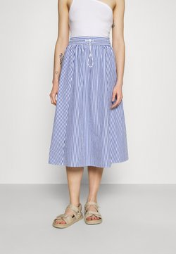 Monki - LUMI SKIRT - A-Linien-Rock - blue/bright