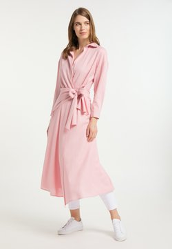 usha - Vestido camisero - rosa