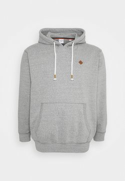 Jack & Jones - JORTONS HOOD  - Sweat à capuche - light grey melange