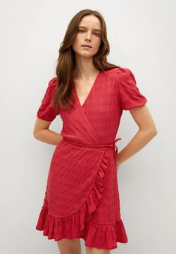 Mango - Day dress - fraise