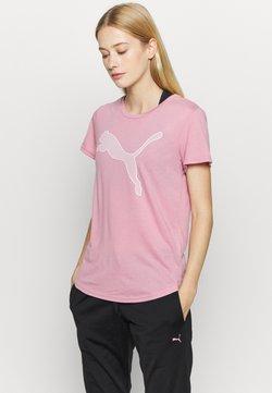 Puma - EVOSTRIPE TEE - T-Shirt print - foxglove