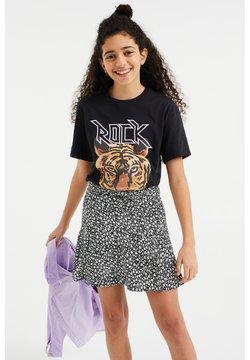 WE Fashion - T-shirt print - black