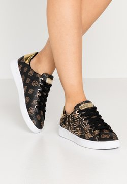Guess - RAZZ - Sneakers laag - brown/ocra