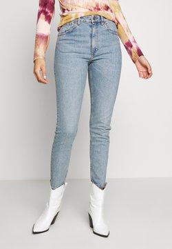 Monki - MOOP BLUE - Slim fit jeans - blue