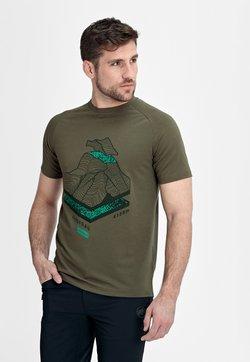 Mammut - MOUNTAIN - T-Shirt print - iguana