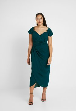 City Chic - EXLUSIVE ENTWINE DRESS - Cocktail dress / Party dress - emerald