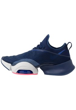 Nike Performance - AIR ZOOM SUPERREP UNISEX - Sports shoes - blue void/black/vast grey/voltage purple