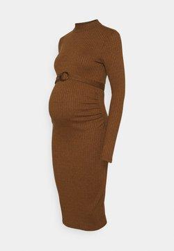 Supermom - DRESS - Sukienka dzianinowa - chipmunk