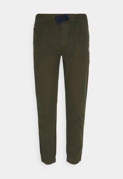 Tommy Jeans - SCANTON JOG PANTS - Jogginghose - dark olive