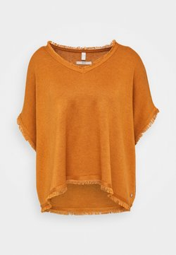 Esprit - PONCHO CROP - Cape - rust brown