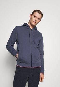 Tommy Hilfiger - BASIC HOODY - veste en sweat zippée - faded indigo