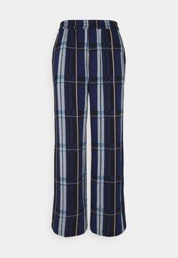 CECILIE copenhagen - SADIE PANTS - Stoffhose - twilight blue