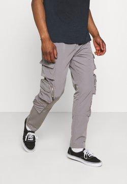 Mennace - Reisitaskuhousut - grey