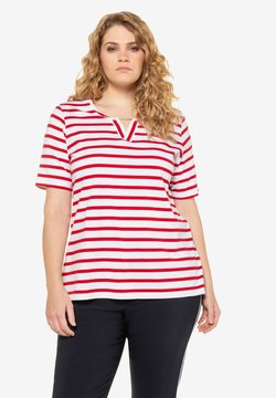 Ulla Popken - T-Shirt print - apple red
