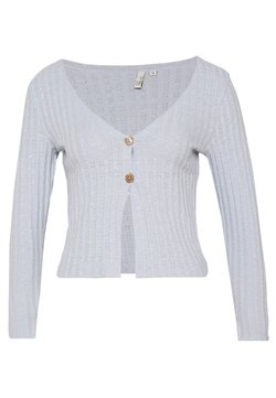 Nly by Nelly - BUTTON DOWN CARDIGAN - Gilet - light blue