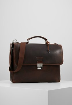 Bugatti - BRIEFBAG SMALL - Aktentasche - brown