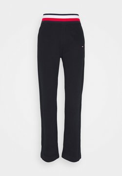 Tommy Hilfiger - REGULAR GLOBAL PANT - Pantaloni sportivi - blue