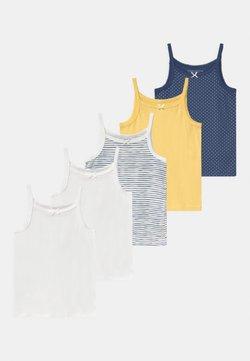Friboo - 5 PACK - Unterhemd/-shirt - dark blue/yellow/white
