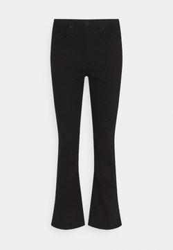 rag & bone - NINA  - Flared Jeans - black
