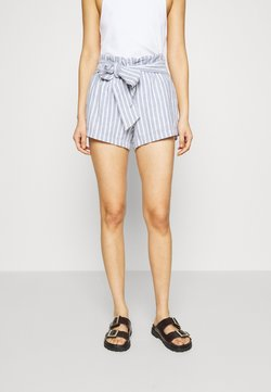 Abercrombie & Fitch - Shorts - blue/white