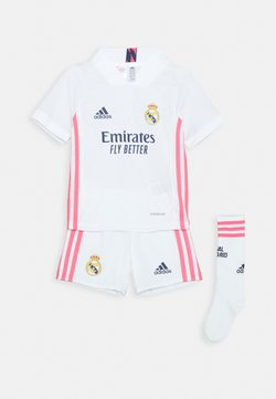 adidas Performance - REAL MADRID AEROREADY SPORTS FOOTBALL MINIKIT SET - Korte sportsbukser - white