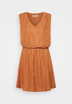 NAF NAF - EDEN - Cocktailkleid/festliches Kleid - caramel