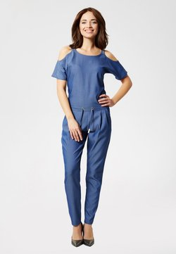 usha - OVERALL - Combinaison - denim blue