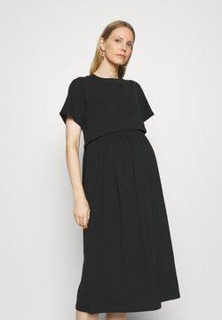 MAMALICIOUS - MLMEADOW JUNE MIDI DRESS - Sukienka z dżerseju - black