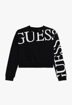 Guess - JUNIOR ACTIVE ICON - Sweatshirt - jet black