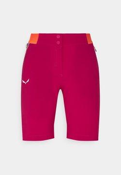 Salewa - PEDROC SHORTS - Sports shorts - rose red