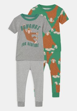 Carter's - MONKEY 2 PACK - Pyjama - green/mottled