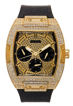 Guess - MENS TREND - Rannekello ajanottotoiminnolla - black/gold-coloured