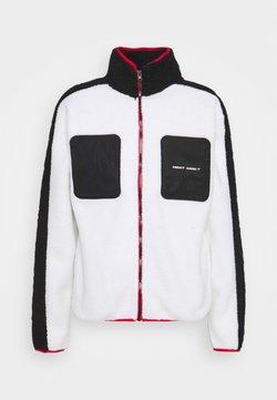 Night Addict - DERIK - Fleece jacket - white